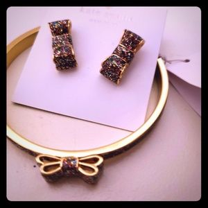 Kate Spade earnings and bracelet